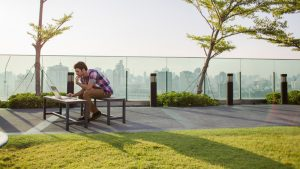 Man-In-Park-Using-Computer-031716